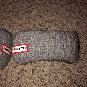 Grey hunter boot socks